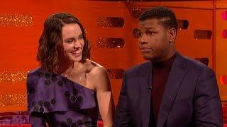 John Boyega and Daisy Ridley on Star Wars secrecy - The Graham Norton Show: Series 18 - BBC