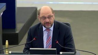 Rassismus im EU-Parlament: Martin Schulz wirft Abgeordneten aus Plenarsaal