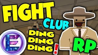 Unturned - OP Fight Club RP | Fight to the death winner makes lots of money! ( Unturned RP )