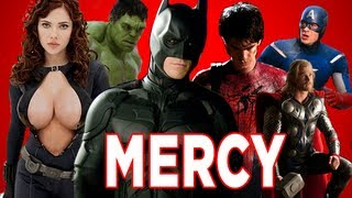 Kanye West - Mercy ft. The Avengers, Batman, Spiderman, Thor and Green Lantern