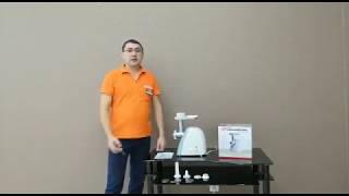 Видеообзор мясорубки BINATONE MGP-1414 со специалистом от RBT.ru