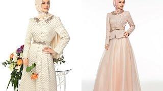 Armine 2015 Abiye Elbise Modelleri | Muslimah Graduation Event Evening Dresses Abayas