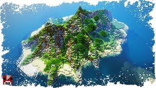 Minecraft Timelapse - Tropical Islands (WORLD DOWNLOAD)