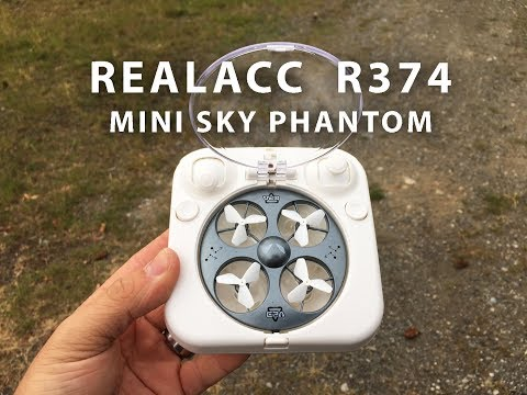 REALACC R374 Mini Sky Phantom by HappyCow unboxing and Review