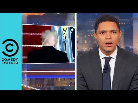 What Is Going On With Trump s Hair The Daily Show