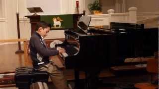 Fur Elise by  Beethoven (7 year old Alexander Moliner Azabagic)