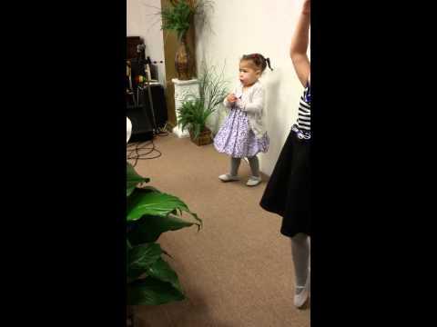 Little Girl Sings Break Every Chain
