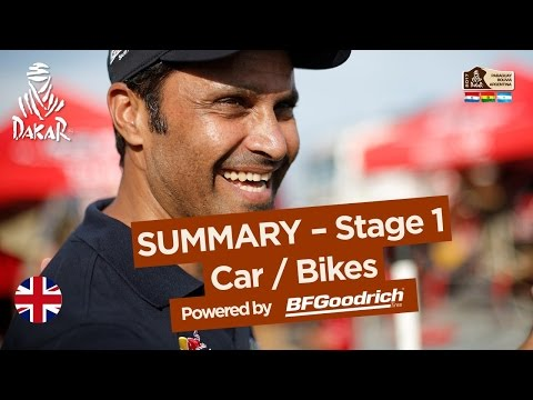 Stage 1 Summary Car Bike Dakar 2017