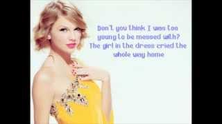 Dear John Taylor Swift Lyric
