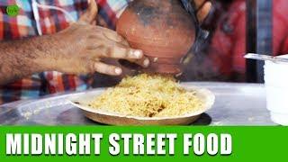 Night Food Stalls in Vijayawada | Pot Biryani | Street Food in Vijayawada