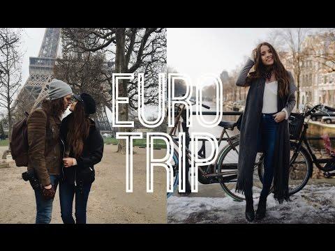 TRAVEL DIARY EURO TRIP London Paris Amsterdam
