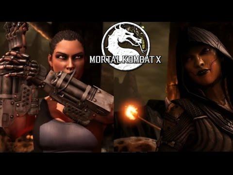 Jacqui Briggs vs. D´Vorah - Sexy Mortal Kombat X Fight