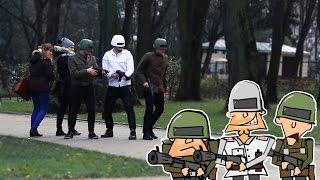 Kapitan Bomba w prawdziwym życiu - LukasTV