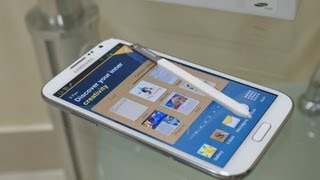 Samsung Galaxy Note II unboxing and review