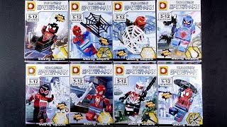 LEGO Marvel Super Heroes Spider-Man Minifigures (bootleg / knock-off) DLP9044