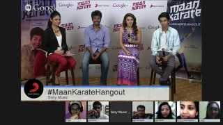 #MaanKarateHangout with Sivakarthikeyan, Hansika and Anirudh