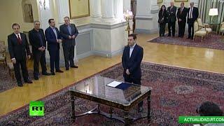 EN DIRECTO: Alexis Tsipras es investido como primer ministro de Grecia
