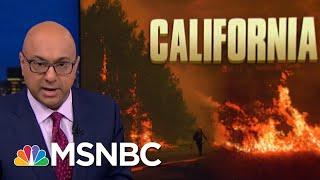 President Donald Trump Tweet Wrong, Unhelpful To California Firefighters   Rachel Maddow   MSNBC