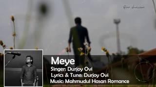 MeYe_by_Durjoy Ovi best mp3 song 2017