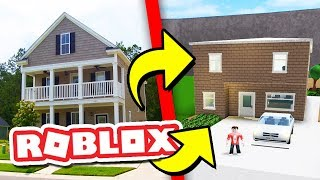 BUILDING MY REAL HOUSE IN ROBLOX