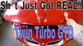 DFR's Twin Turbo Pontiac GTO