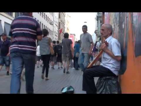 Taksim Sokak Müzisyenleri İstanbul 1.Bölüm