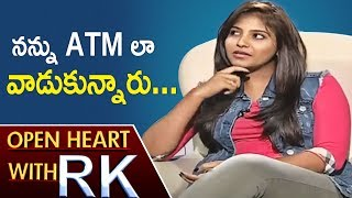 Actress Anjali Allegations Upon Her Aunt And Director Kalanjiyam   Open Heart With RK   ABN Telugu