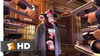 Madagascar (2005) - Caught in Grand Central Station Scene (1/10) | Movieclips