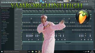 A$AP Mob - Yamborghini High ft. Juicy J FL Studio Remake (FLP Download)