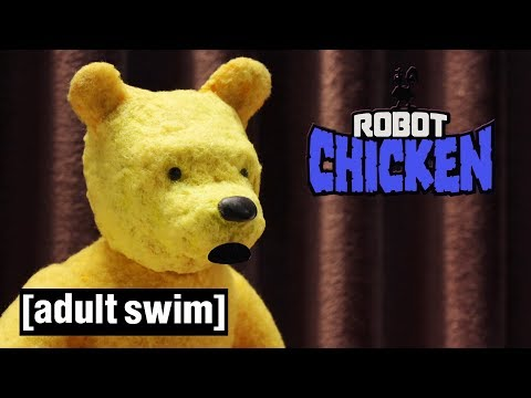 Overweight Cartoon Characters Robot Chicken Adult Swim