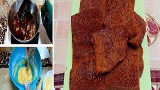 Resep Cara Membuat Bolu Karamel Sarang Semut Bahan Simpel
