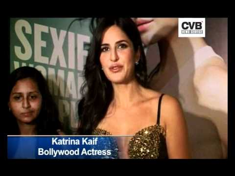 KATRINA KAIF VOTED SEXIEST WOMAN IN THE WORLD