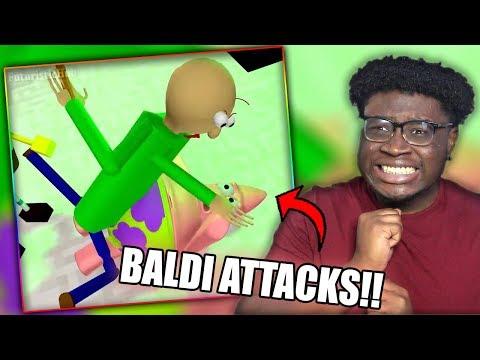 Xxx Mp4 BALDI ATTACKS PATRICK STAR BALDI 39 S BASICS VS SPONGEBOB Minecraft Animation Reaction 3gp Sex