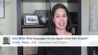 Question and Answer with Rachel's English -- American English