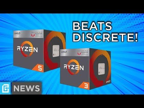Ryzen's Desktop APU Beats Discrete GPUs!
