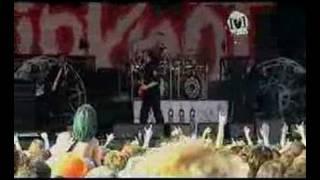 slipknot - eyeless (live big day out 2005)