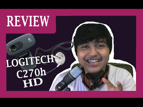 Logitech C270h HD Webcam Review Unboxing Indonesia 1