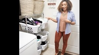 Store All Your Laundry In ONE Room With This Easy FIx