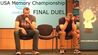 Alexander vs. Nelson - USA Memory Championship 2014