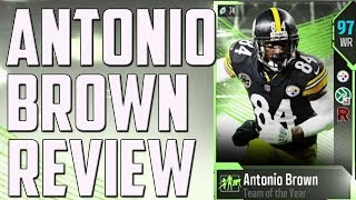 How Good is 96 Overall Antonio Brown? MUT 18 Card Review