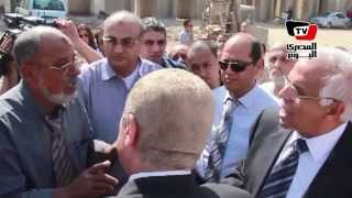 محافظ القاهرة لمواطن: ده مشروع الدولة.. والمواطن يرد: امال إحنا إيه