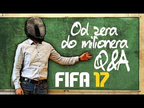 watch FIFA 17 FUT od ZERA do MILIONERA Q&A #1