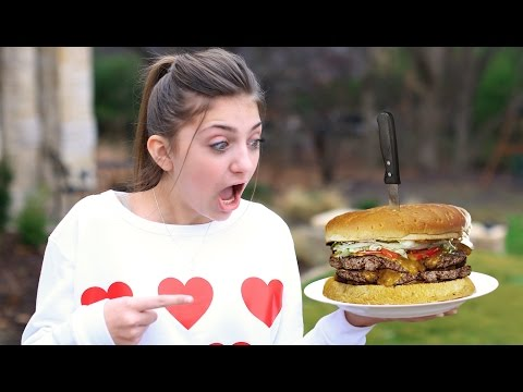 Kamri vs a TWO POUND Double Cheeseburger! | Behind the Braids Ep.22