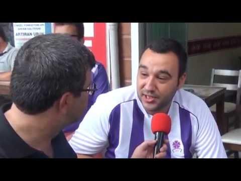 Gebze'de sezon açılış maçında taraftarlarımızın röportajları Eskiçarşı.