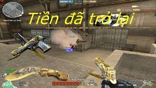 [ Bình Luận CF ] Desert Eagle-Noble Gold - Tiền Zombie v4