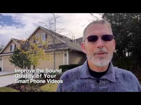 Improve the Sound Quality of Your Smart Phone Videos