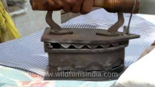 Indian Iron man or istri-wallah!