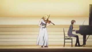 Kaori violin performance [Ep 02 of Shigatsu wa Kimi no Uso]