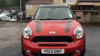 2013 MINI COOPER S COUNTRYMAN CAR REVIEW