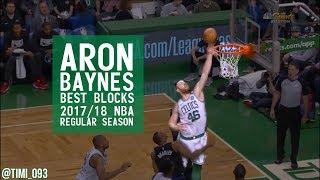 Aron Baynes Best Blocks 2017/18 NBA Regular Season